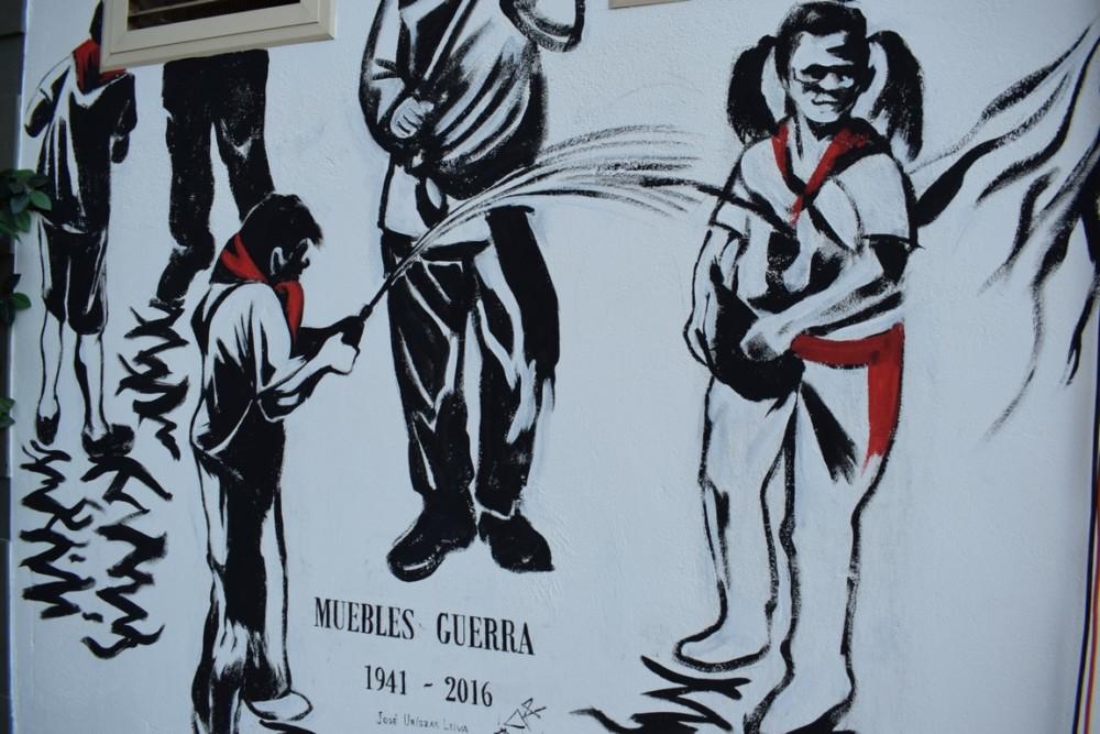 El Mural de la Batalla del Vino, otro emblema para Haro 5
