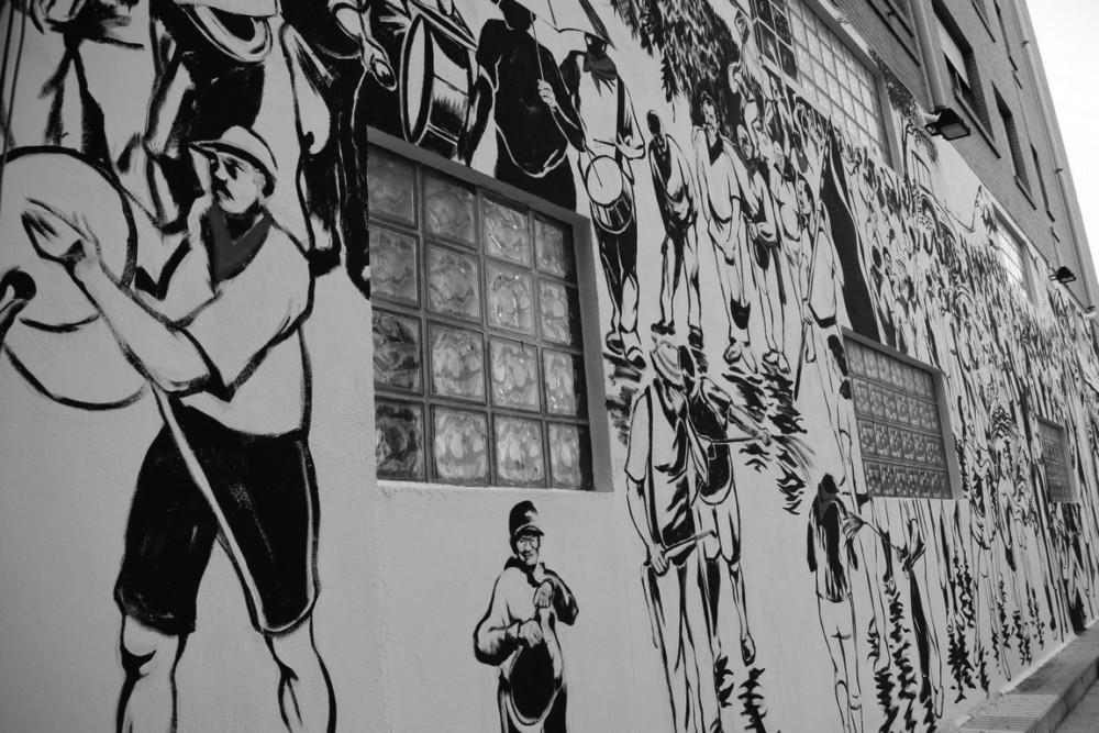 El Mural de la Batalla del Vino, otro emblema para Haro 6