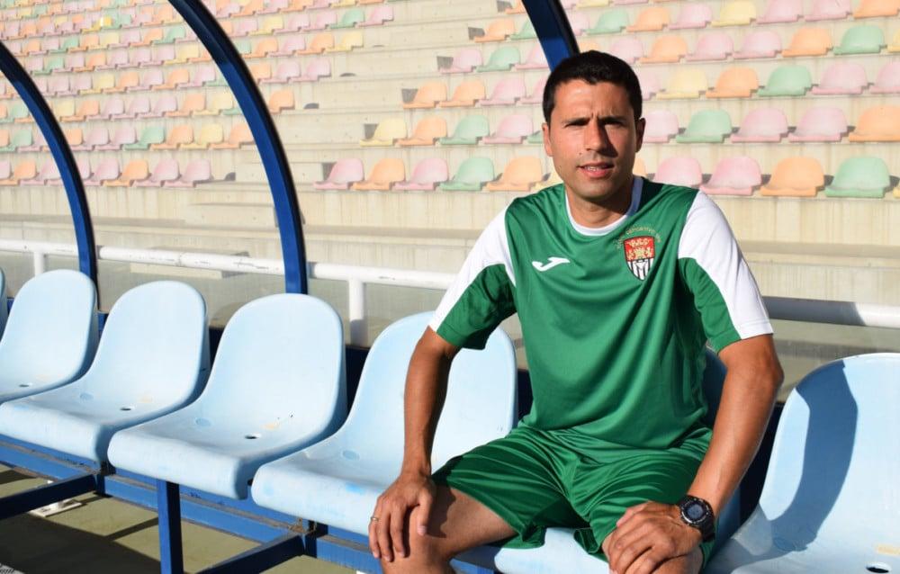 Rubén López 'Tato', entrenador del Haro Deportivo