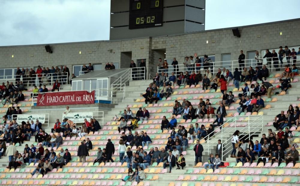 La SD Logroñés inflige al Haro la primera derrota de la temporada 1