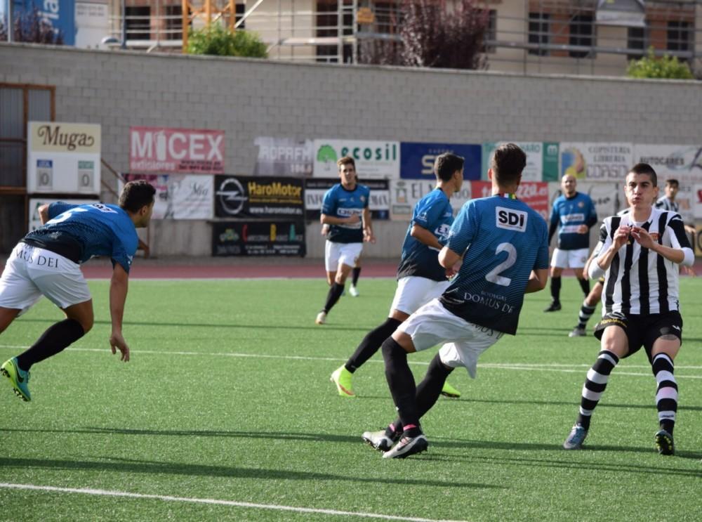 La SD Logroñés inflige al Haro la primera derrota de la temporada 4