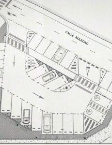 Plano del 'parking' de la Atalaya | Ayuntamiento de Haro