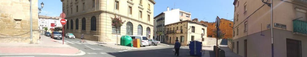 Zona de la plaza de San Agustín.