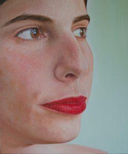 Otro de los retratos que se podrá ver en la muestra de Alfonso da Silva | www.alfonsodasilva.com
