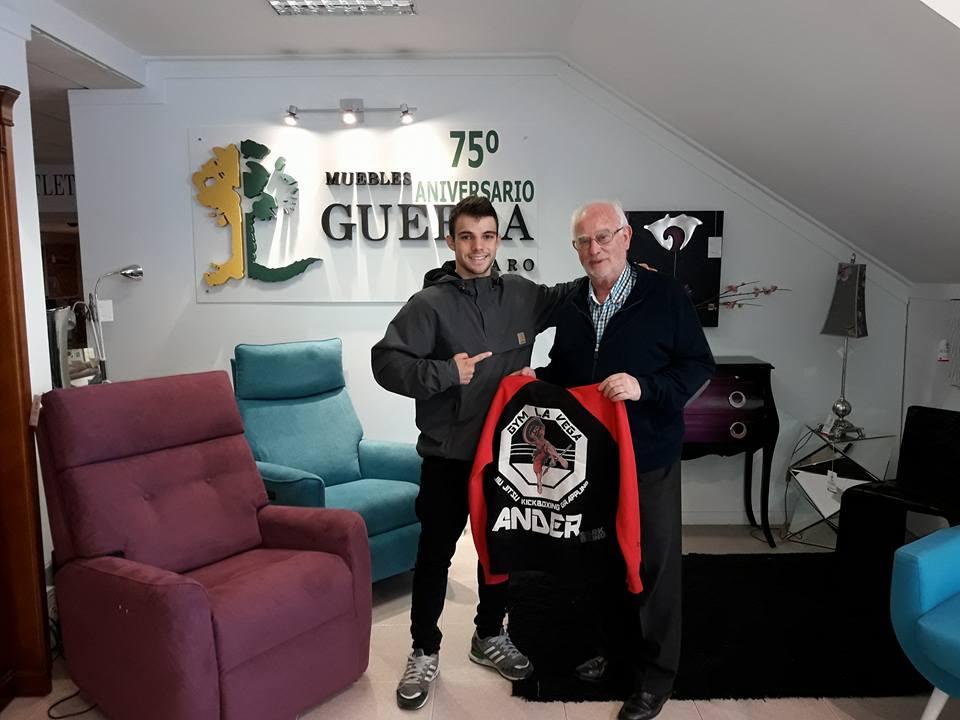 Haro se vuelca con Ander Sánchez 8