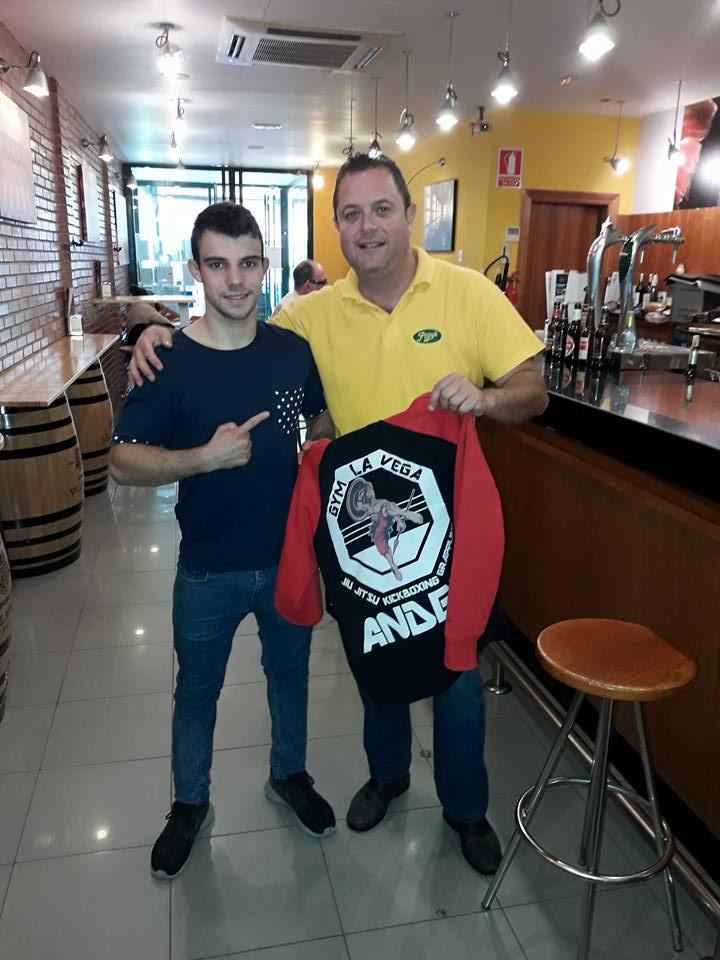 Haro se vuelca con Ander Sánchez 5