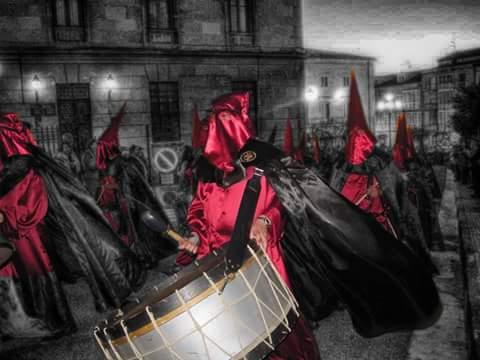 Imagen cedida por la Banda de Cornetas y Tambores de Haro