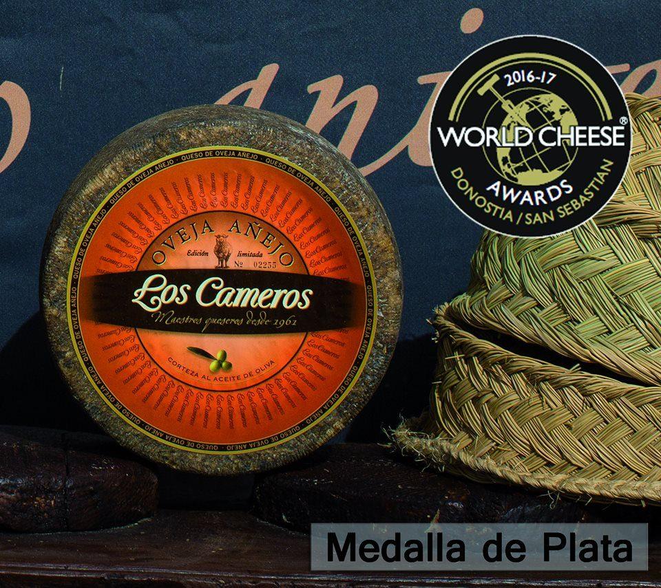 Otro certamen mundial cargado de medallas para Quesos Los Cameros 3