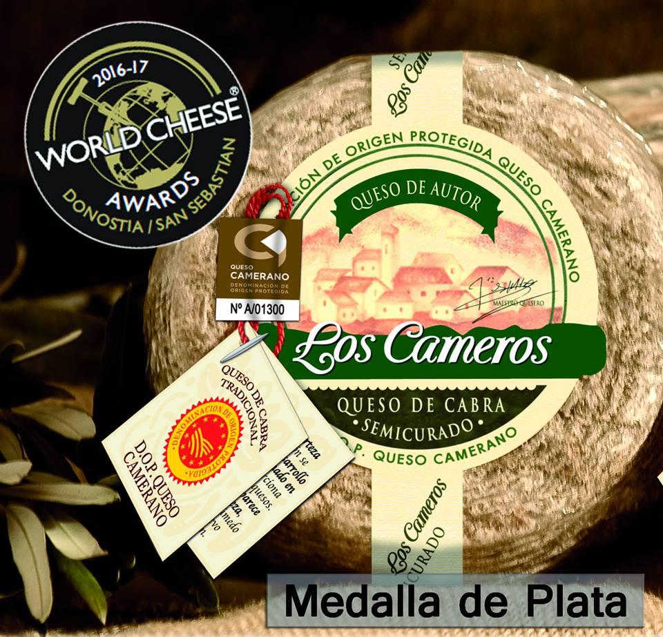 Otro certamen mundial cargado de medallas para Quesos Los Cameros 4