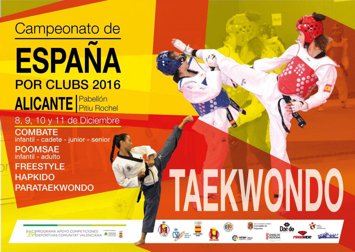 El Club Taekwondo Casalarreina participa en el Nacional de Clubes de Alicante 3