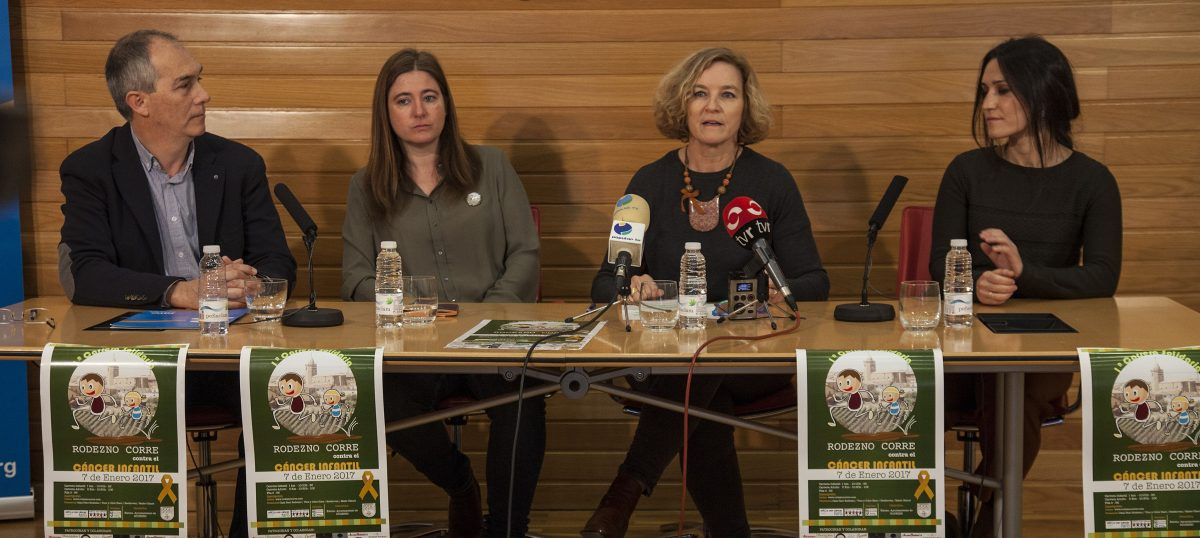 La carrera solidaria 'Rodezno corre contra el cáncer infantil' ya cuenta con más de 300 participantes 2
