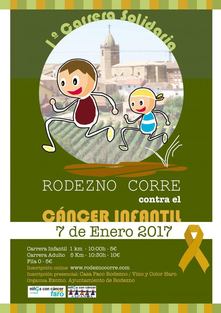 La carrera solidaria 'Rodezno corre contra el cáncer infantil' ya cuenta con más de 300 participantes 1