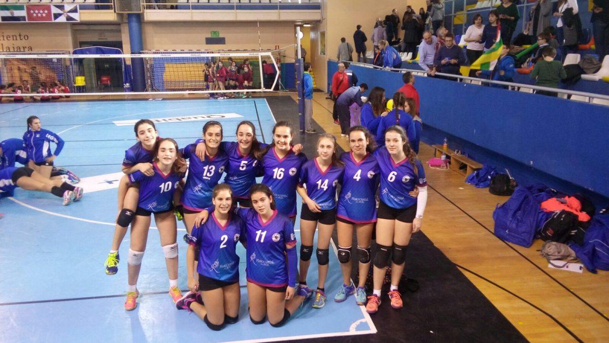 Oro y bronce para la cantera del Haro Rioja Voley en la Copa de España 6