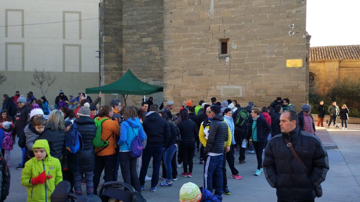 1.000 personas corren en Rodezno por las familias con niños con cáncer 2