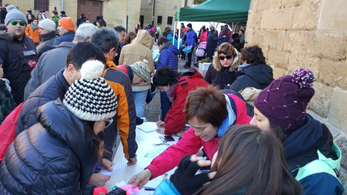 1.000 personas corren en Rodezno por las familias con niños con cáncer 4