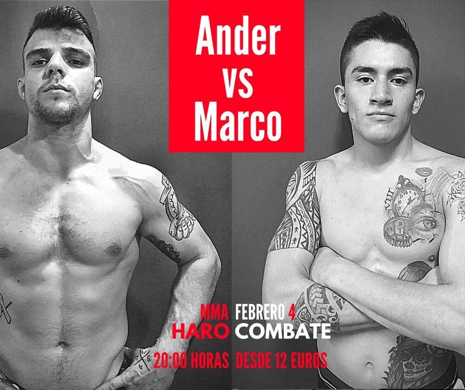 Ander Sánchez peleará en casa el próximo 4 de febrero 1