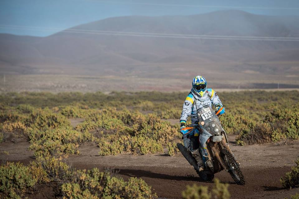 Anguiano, cerca de su sueño en el Dakar 2
