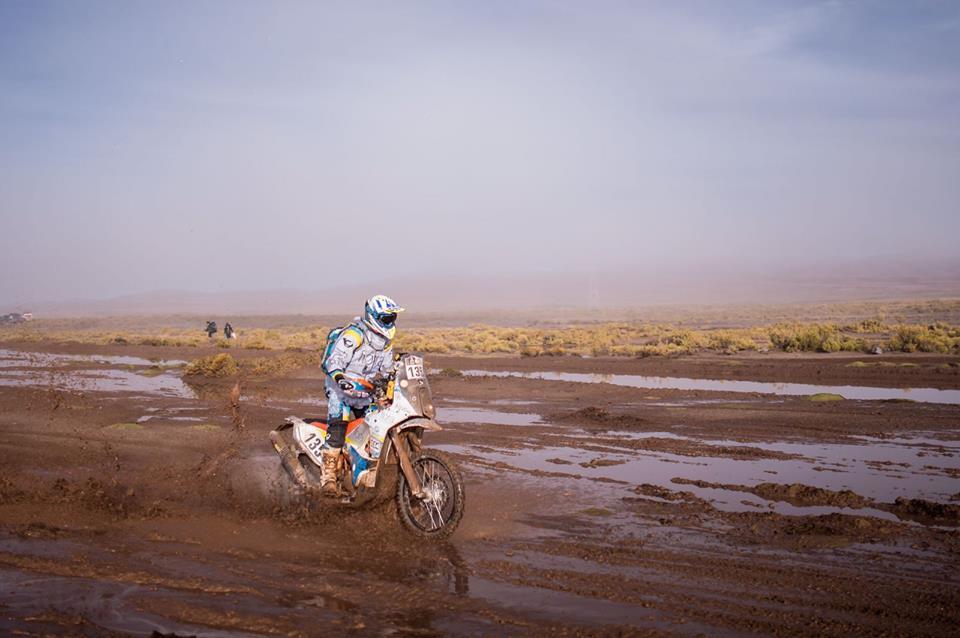 Anguiano, cerca de su sueño en el Dakar 3