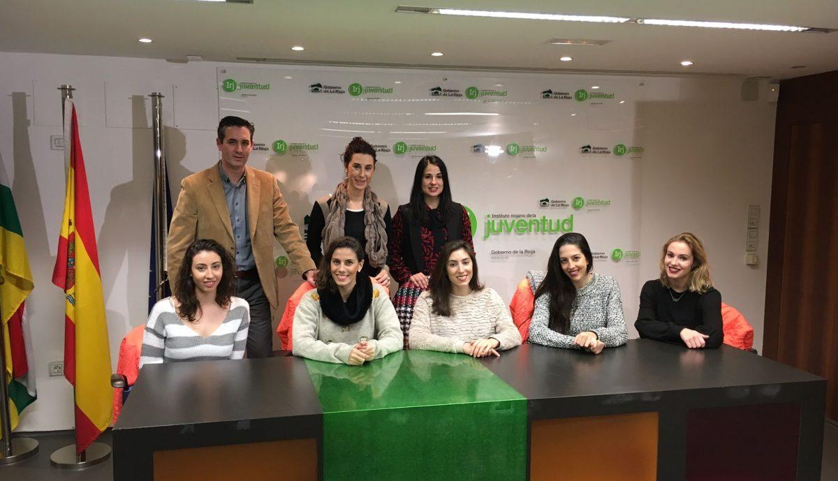 La Selección Española de Gimnasia Rítmica visita La Rioja 1