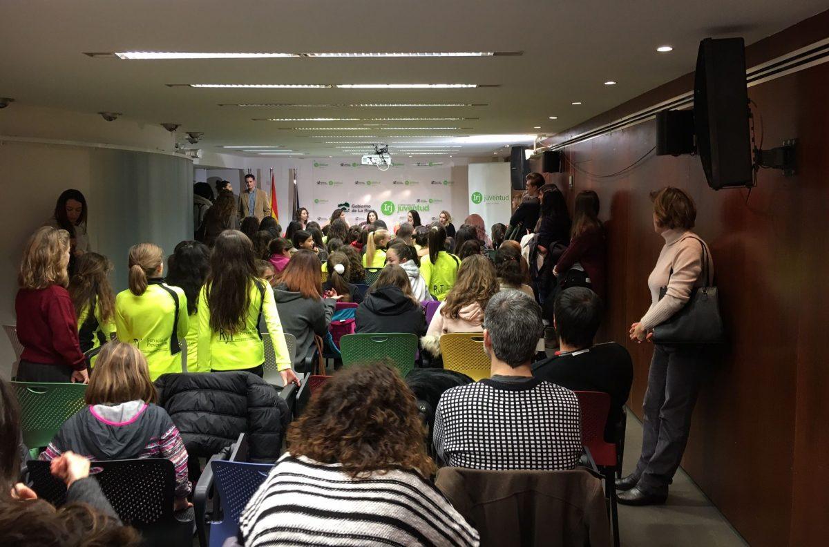 La Selección Española de Gimnasia Rítmica visita La Rioja 2