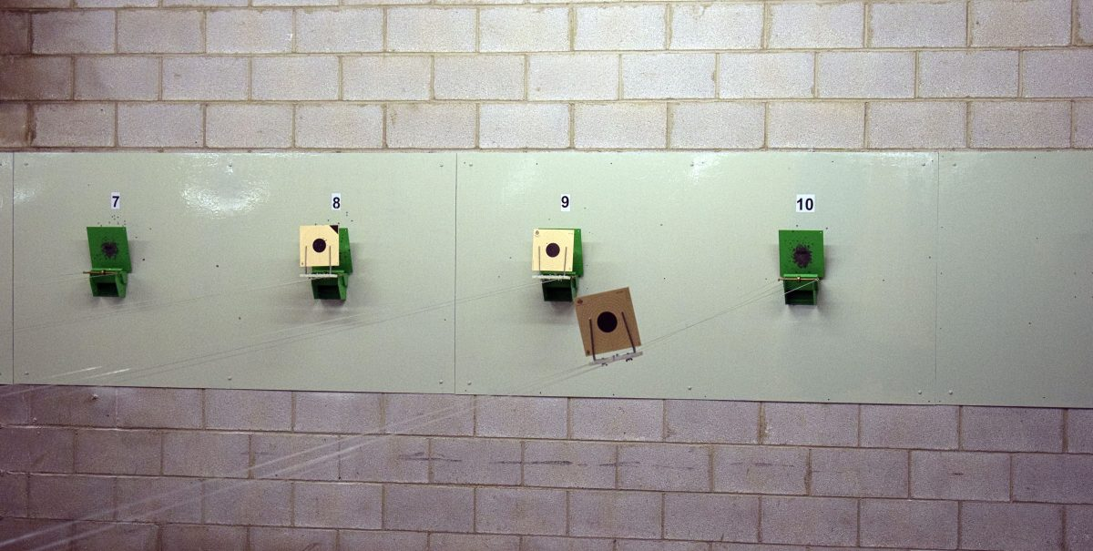 Las imágenes de la primera prueba oficial de tiro olímpico en El Mazo 1