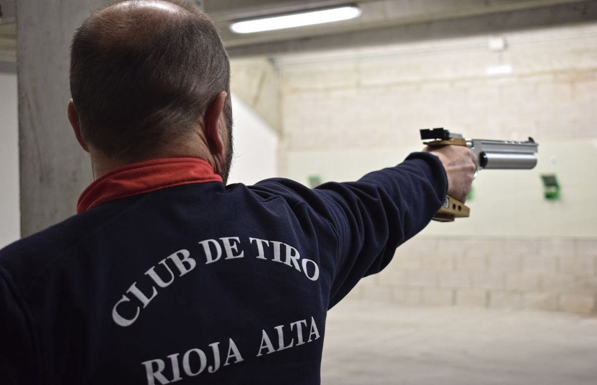 Las imágenes de la primera prueba oficial de tiro olímpico en El Mazo 10