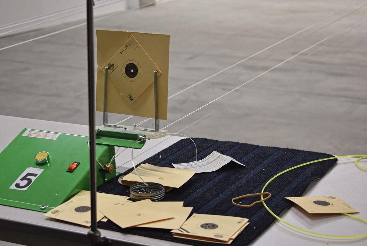 Las imágenes de la primera prueba oficial de tiro olímpico en El Mazo 11