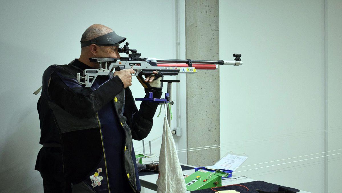 Las imágenes de la primera prueba oficial de tiro olímpico en El Mazo 3