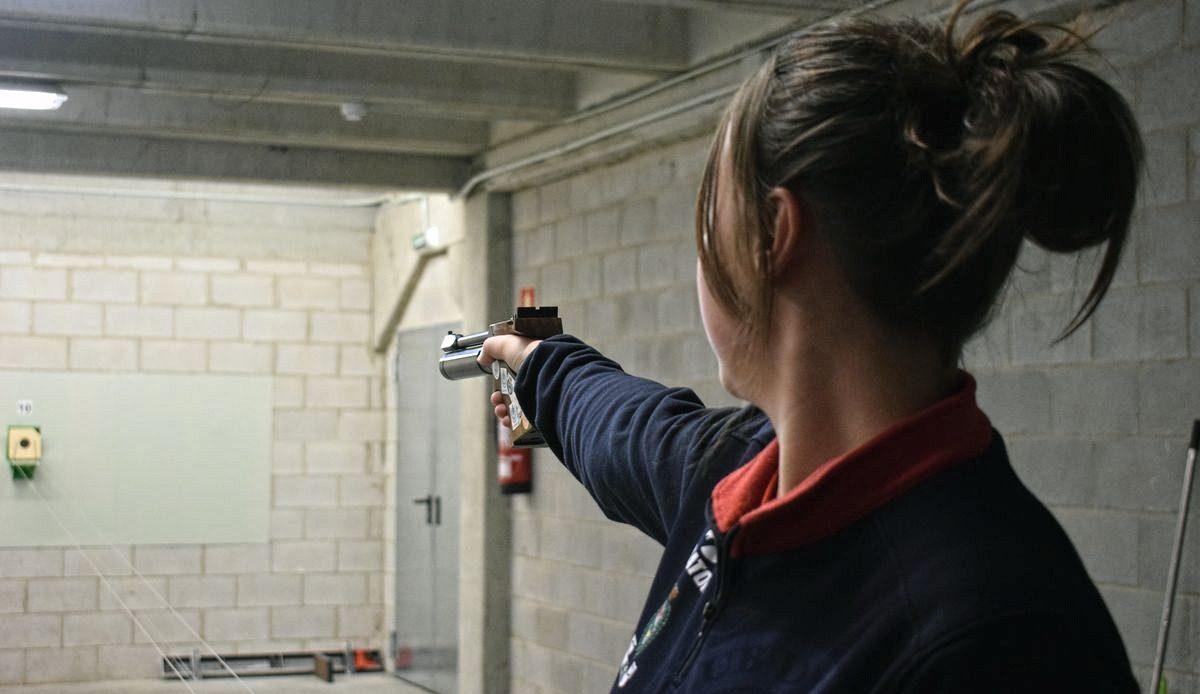 Las imágenes de la primera prueba oficial de tiro olímpico en El Mazo 4