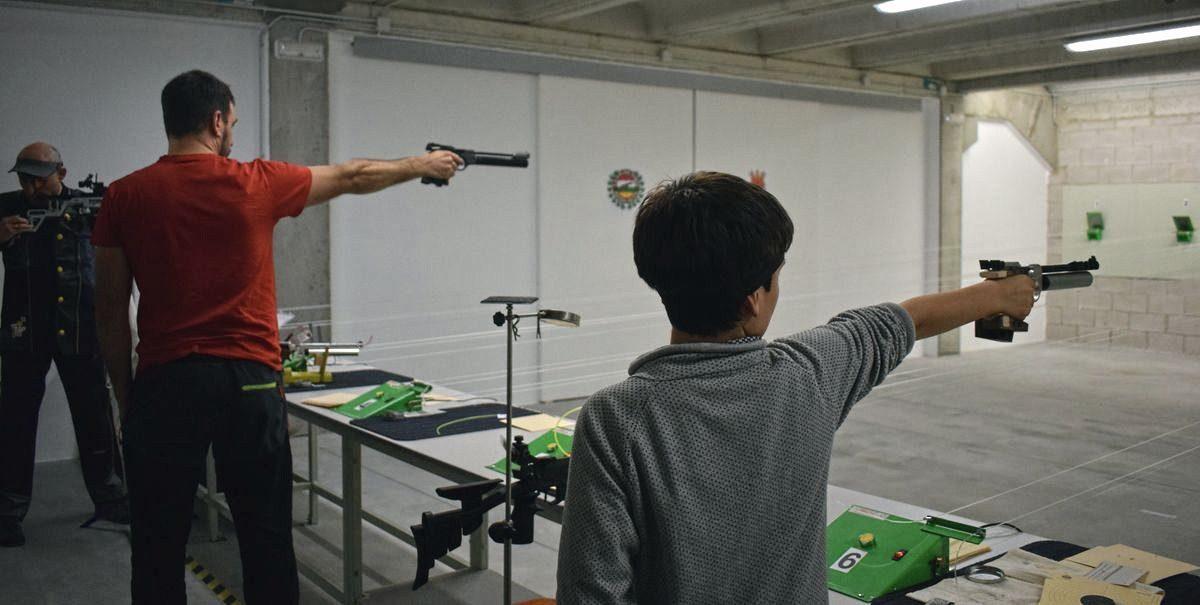 Las imágenes de la primera prueba oficial de tiro olímpico en El Mazo 5