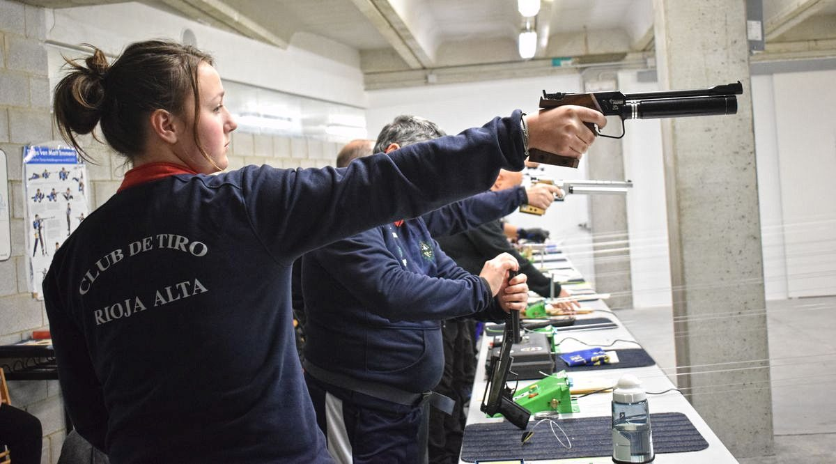 Las imágenes de la primera prueba oficial de tiro olímpico en El Mazo 6