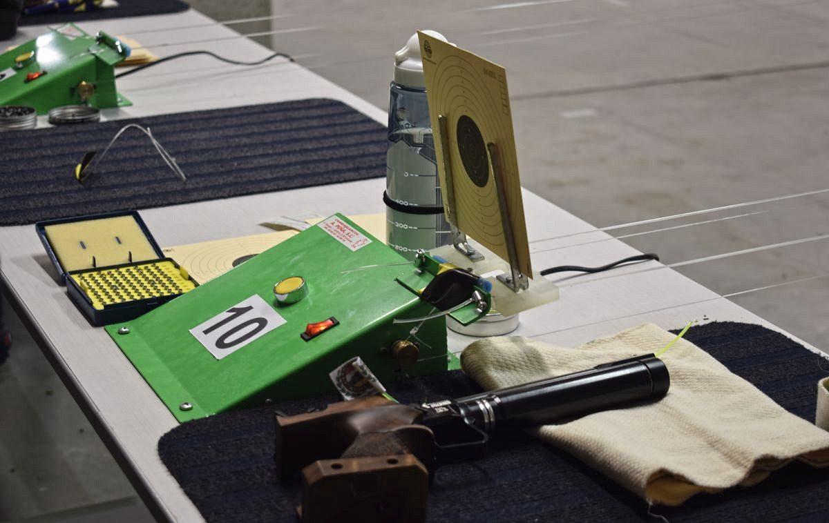 Las imágenes de la primera prueba oficial de tiro olímpico en El Mazo 7