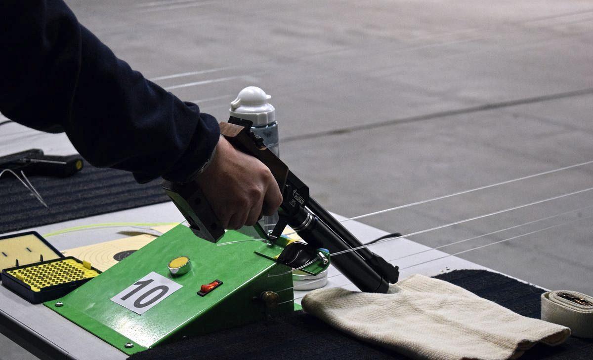 Las imágenes de la primera prueba oficial de tiro olímpico en El Mazo 8