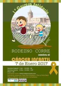Más de 500 inscritos para la carrera 'Rodezno corre contra el cáncer infantil' 1