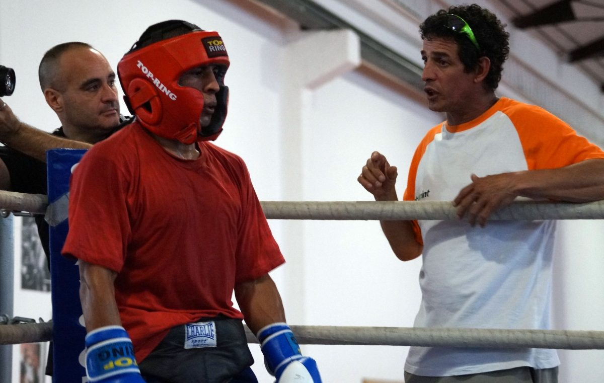 Ricardo Fernández y 'Chimo' Eddine calibrarán el futuro del boxeo riojano en Haro 1