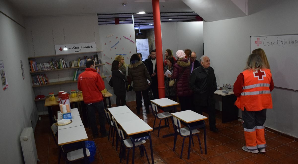 Cruz Roja estrena local en Haro destinado a la inclusión social de menores y promoción del éxito escolar 3
