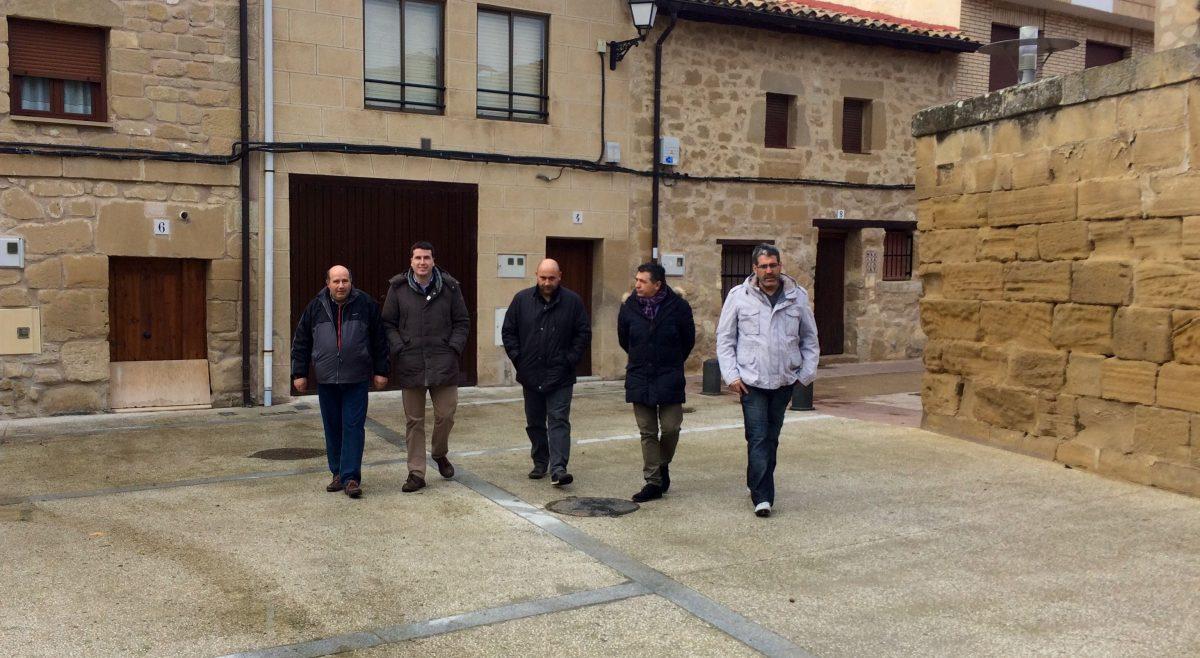 El Gobierno de La Rioja apoya a Tirgo en su prioridad de renovar las redes de agua potable y saneamiento 'para mejorar el servicio a los vecinos' 1