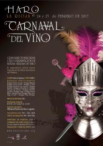 Las entradas del Carnaval del Vino se pondrán a la venta en Haro a partir de este domingo 5 de febrero 2
