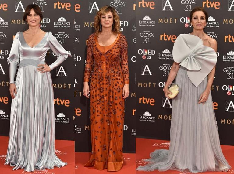 Lo que dio de sí la alfombra roja de los Goya 2017 1