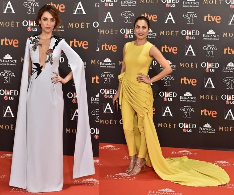 Lo que dio de sí la alfombra roja de los Goya 2017 2