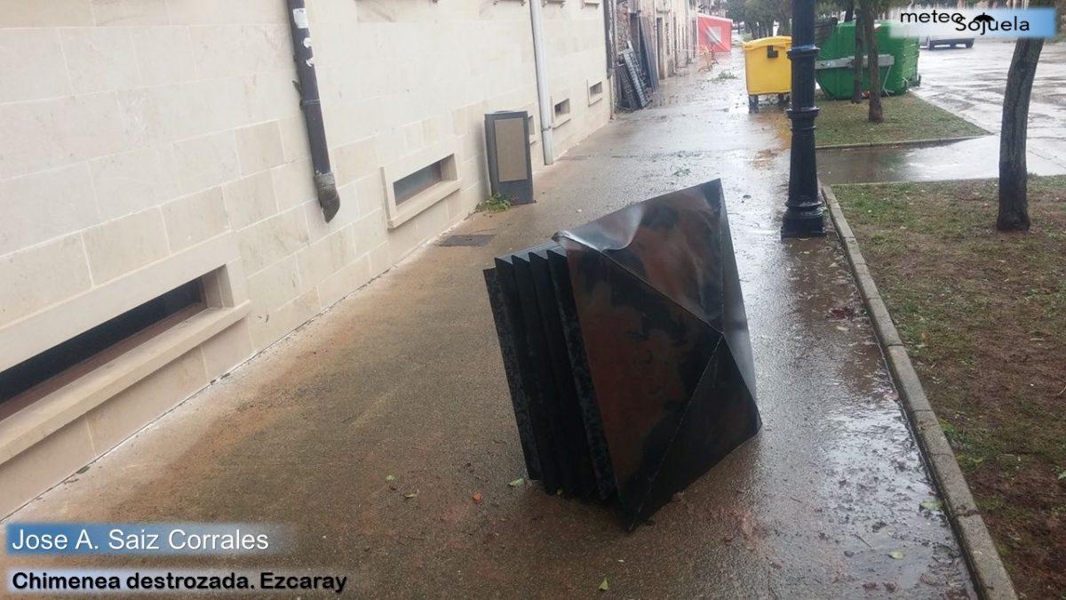 Los destrozos que ha dejado el temporal de viento 11