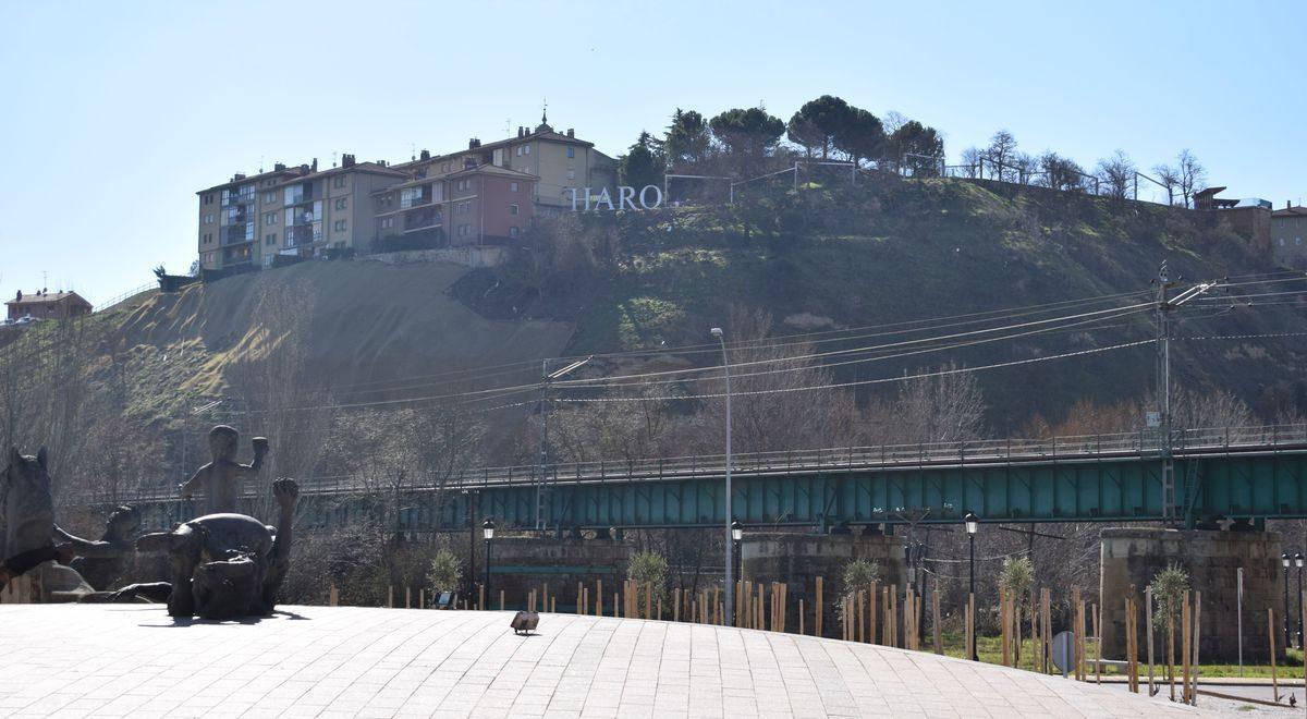 Un estudio para conectar el Barrio de la Estación y el centro de Haro 1