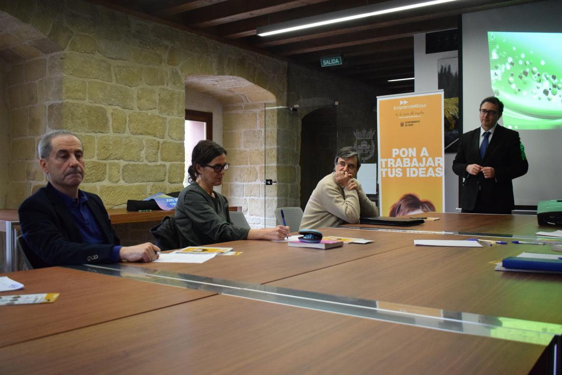 Una docena de asistentes en la Semana Europea de la 'Startup' en Haro 7