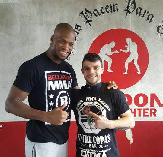 Ander Sánchez regresa de entrenar en Londres 2