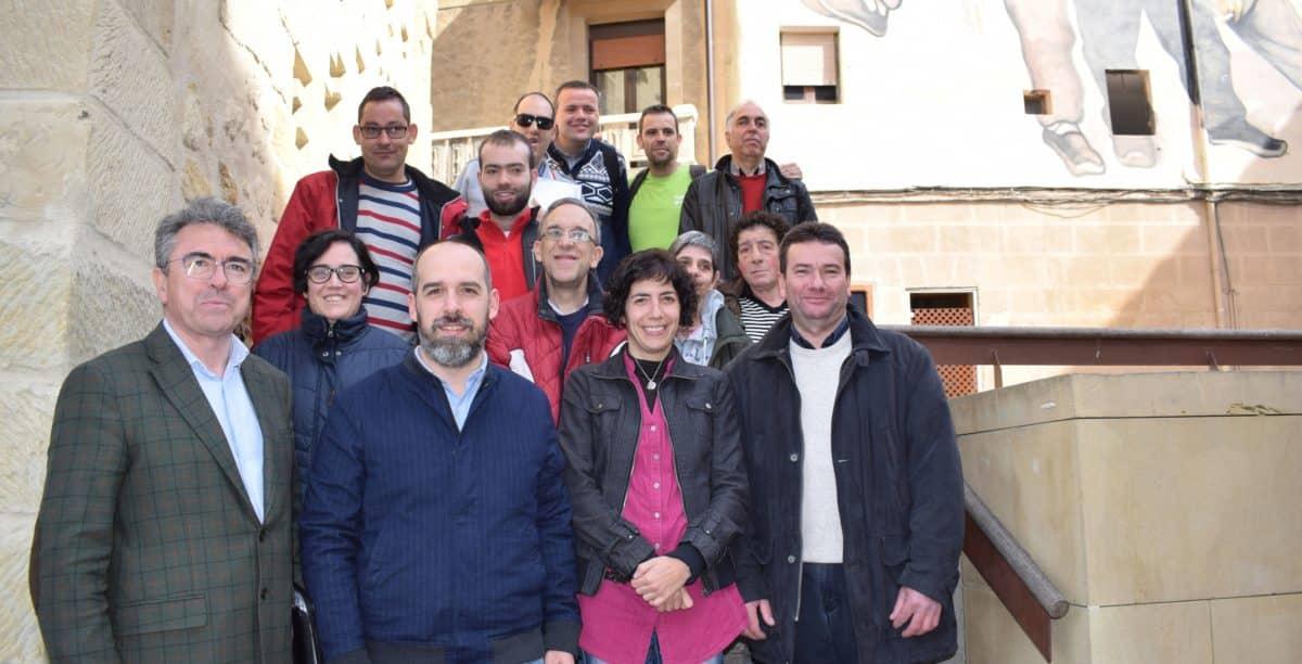 Asprodema colabora con el Ayuntamiento de Haro en un proyecto para la detección de barreras arquitéctonicas 1