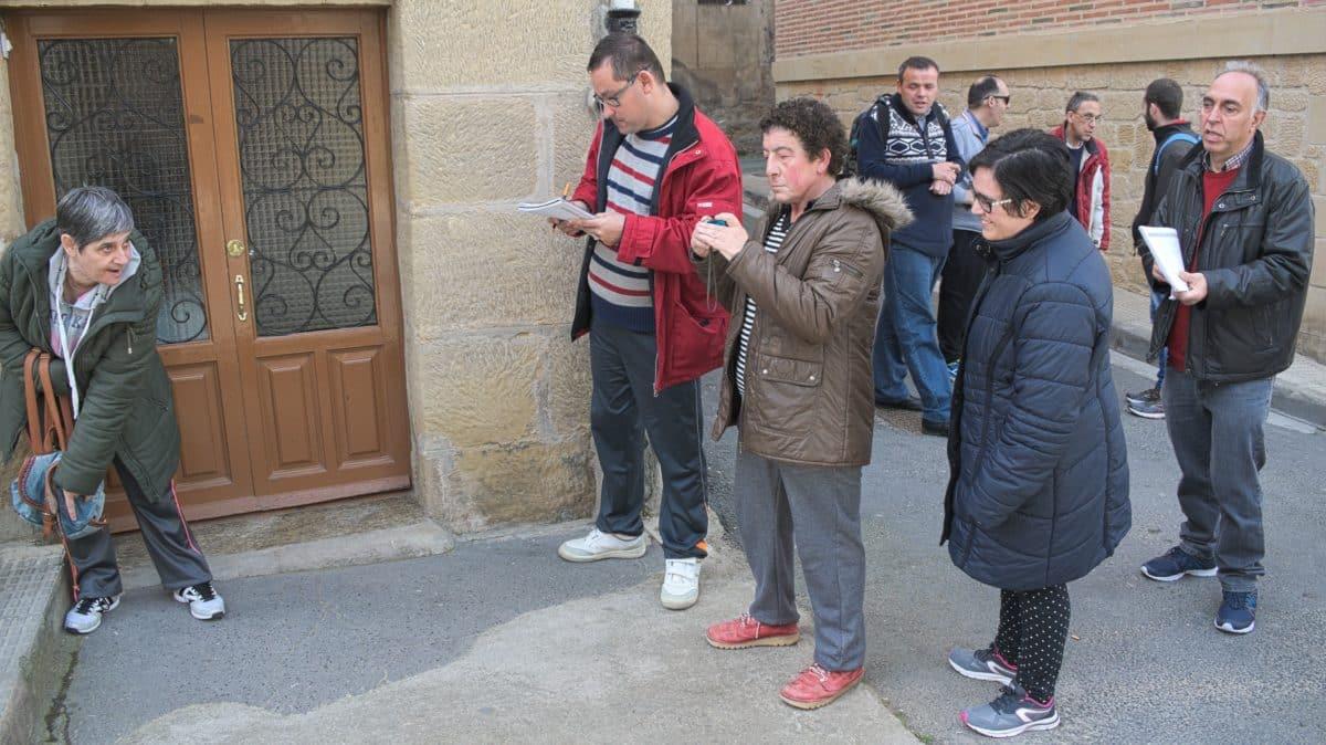 Asprodema colabora con el Ayuntamiento de Haro en un proyecto para la detección de barreras arquitéctonicas 2