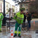 El Ayuntamiento de Haro refuerza el servicio de limpieza urbana 6