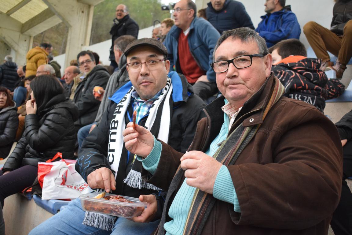 El Haro empata en Nájera y sale de los puestos de 'playoff' 14