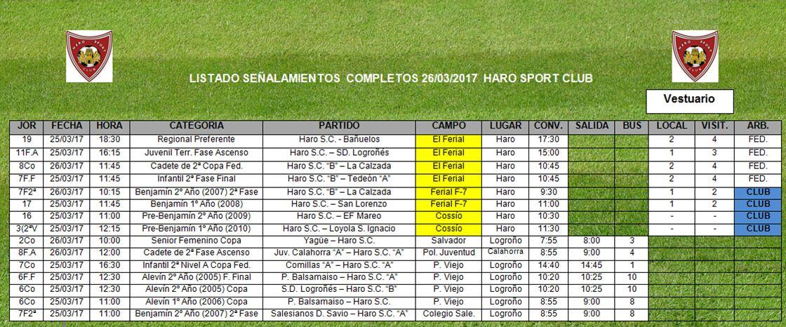 El Haro Sport Club Regional recibe en El Ferial al Bañuelos 1