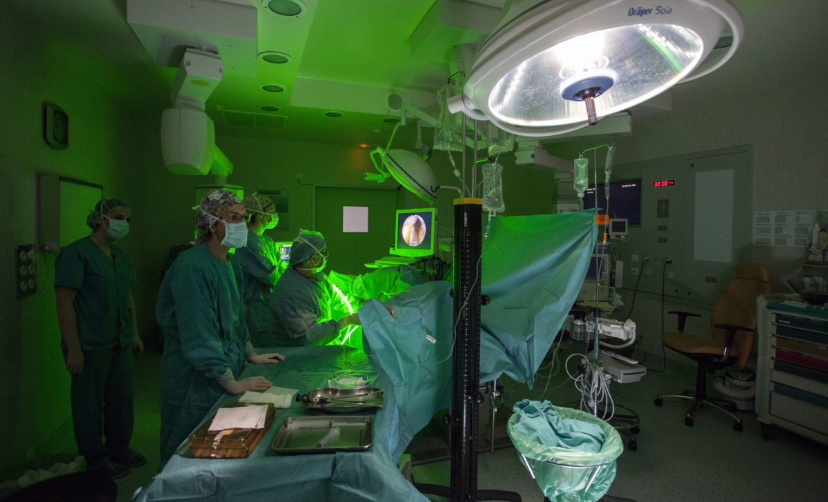 El láser verde se incluye en la cartera de servicios sanitarios 1